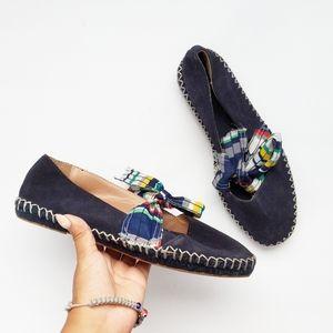Zara tie bow flats size 39